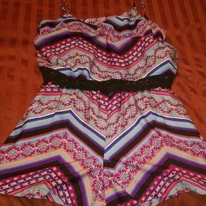 Mix Nouveau Shorts - Romper